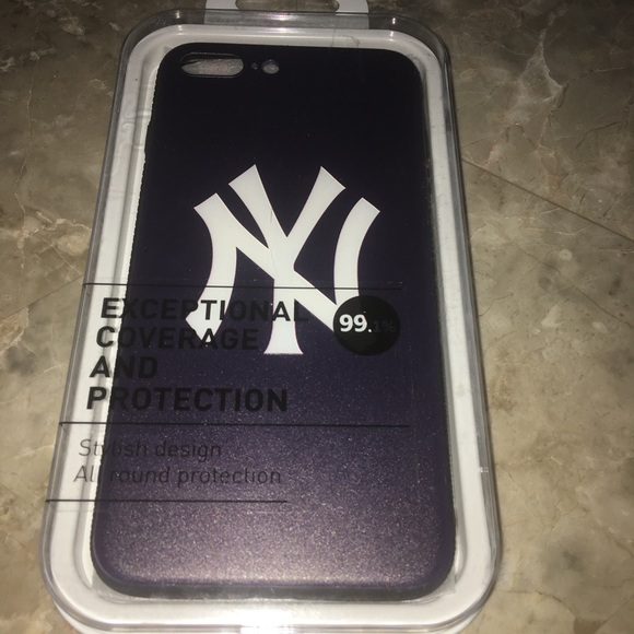 promo code 6d6c9 70dff iPhone 8+ Yankees Phone Case